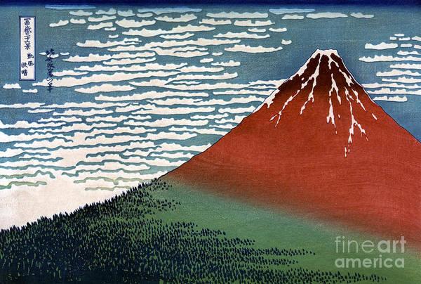 Painting - Mount Fuji by Granger