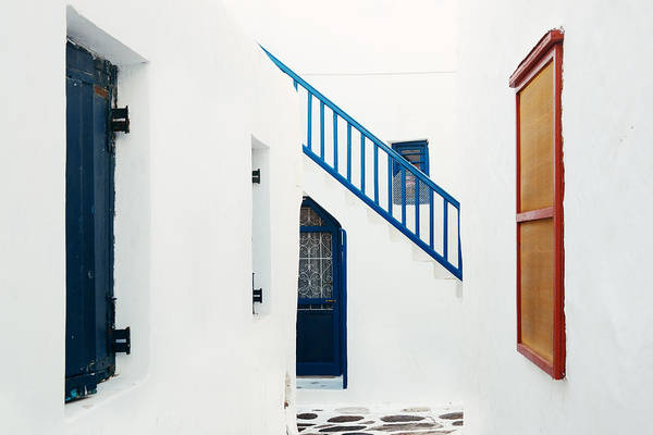 Photograph - Mykonos by Songquan Deng