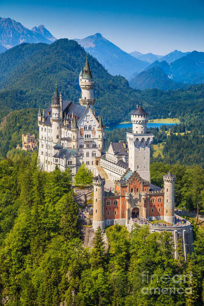 Wall Art - Photograph - Neuschwanstein Fairytale Castle by JR Photography