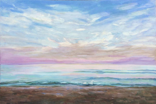 Painting - Atlantic Dawn by Bart Levy