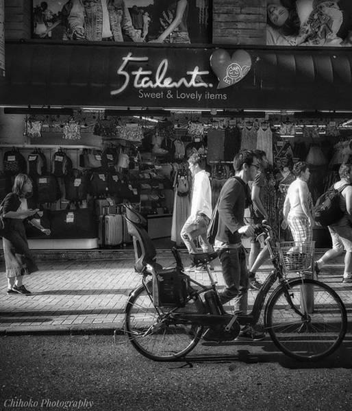 Tachi Photograph - . . Tokyo by Chihoko Tachi