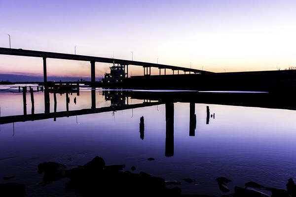 Photograph - North Landing River by Pete Federico