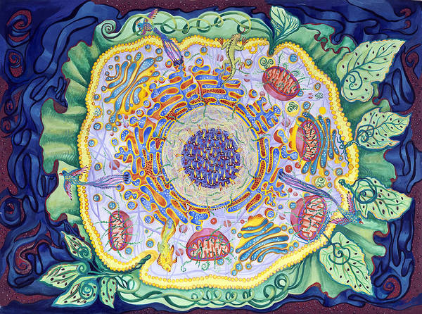 Ode To The Eukaryote Art Print