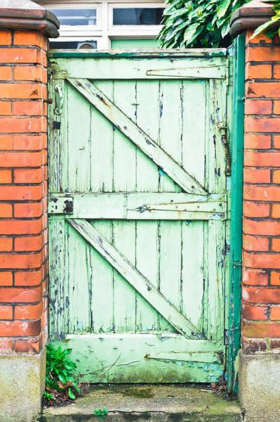 Maintenance Photograph - Old Gate by Tom Gowanlock