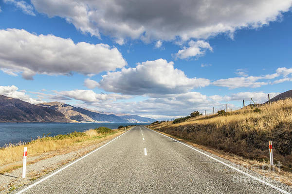 Photograph - On  The Road In New Zealand by Didier Marti