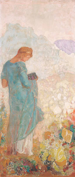 Painting - Pandora by Odilon Redon
