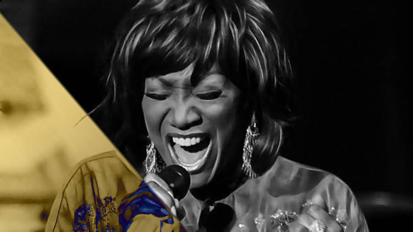 Funk Mixed Media - Patti Labelle Collection by Marvin Blaine