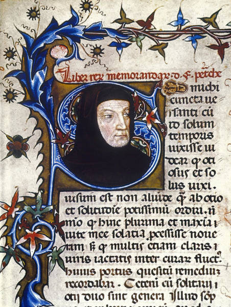 Photograph - Petrarch (1304-1374) by Granger