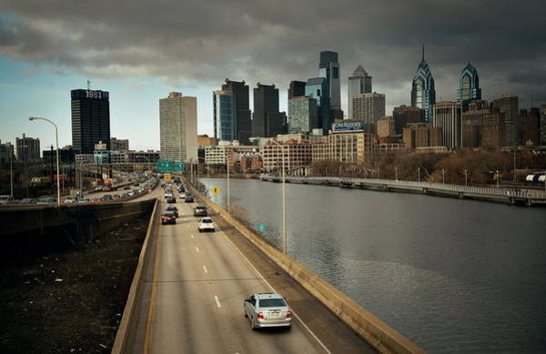 Photograph - Philadelphia Skyline by Songquan Deng