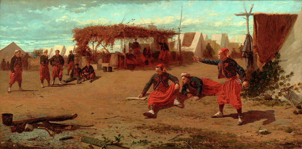 Artistry Painting - Pitching Quoits by Winslow Homer