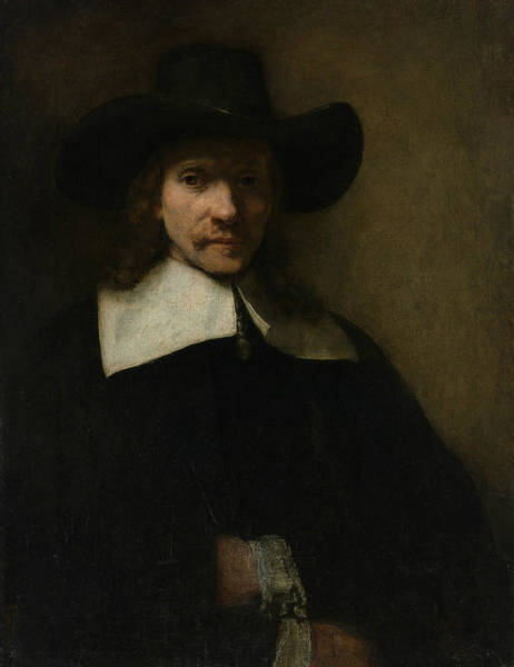 Painting - Portrait Of A Man by Rembrandt
