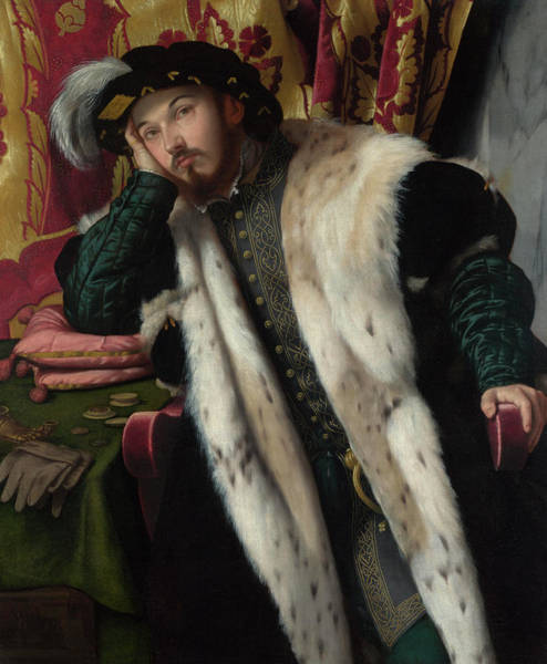 Nobility Painting - Portrait Of A Young Man by Moretto da Brescia