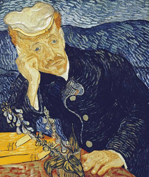 Confident Painting - Portrait Of Dr. Gachet by Vincent Van Gogh