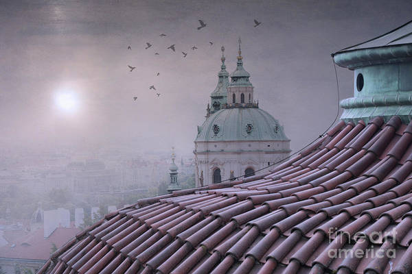 Praha Wall Art - Photograph - Prague Roof Tops by Juli Scalzi