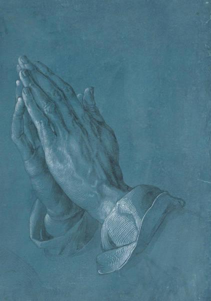 Albrecht Durer Wall Art - Drawing - Praying Hands by Albrecht Durer