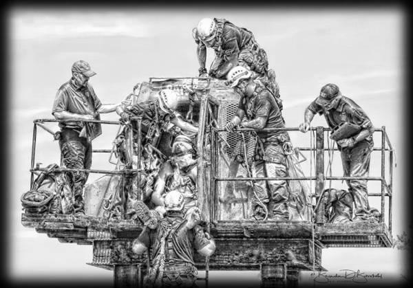 Wall Art - Photograph - 4 Rescue Team  by Brenda D Busskohl