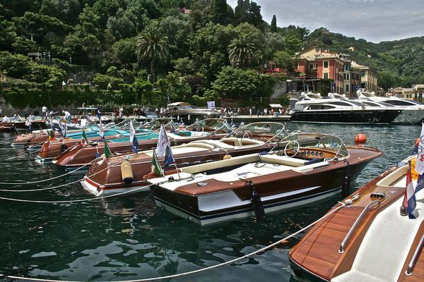 Photograph - Riva Portofino by Steven Lapkin