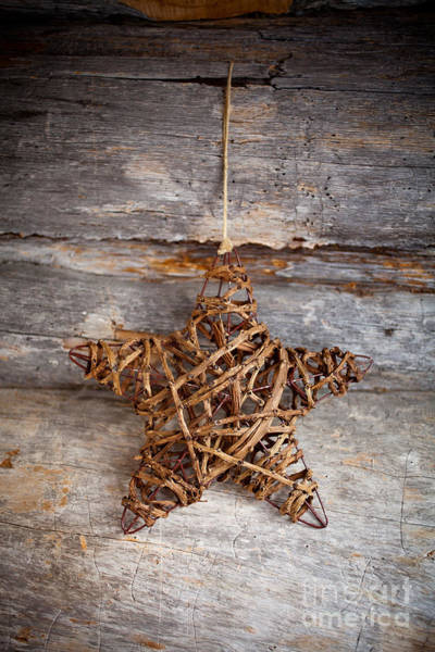 Wall Art - Photograph - Rustic Star by Kati Finell