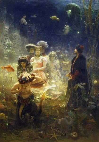Sadko Art Print by Ilya Repin