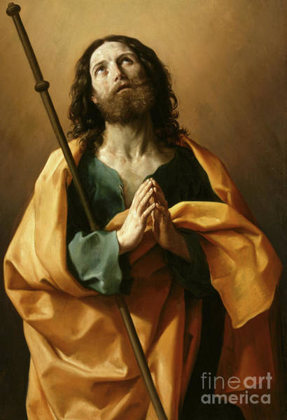 Wall Art - Painting - Saint James The Greater, by Guido Reni