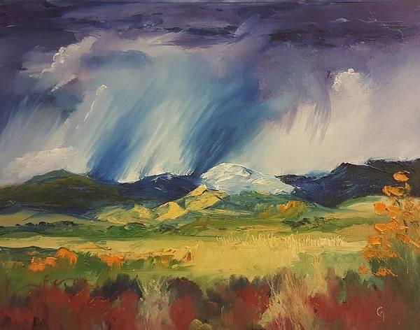 Painting - 4 Seasons In One Day by Cheryl Nancy Ann Gordon
