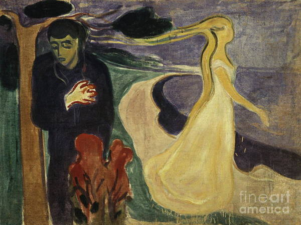 Subjective Wall Art - Painting - Separation 1896 By Edvard Munch by Art Anthology