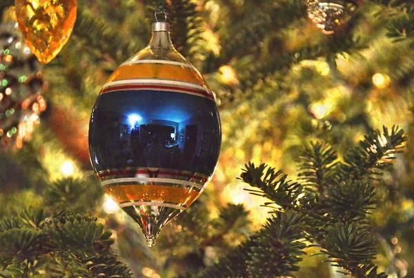 Photograph - Shiny Brite Ornament by JAMART Photography