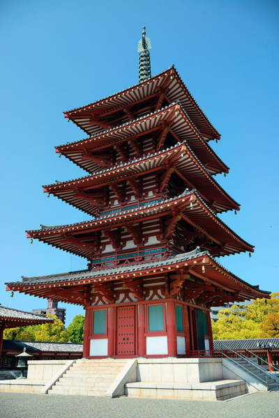 Photograph - Shitennoji Temple by Songquan Deng