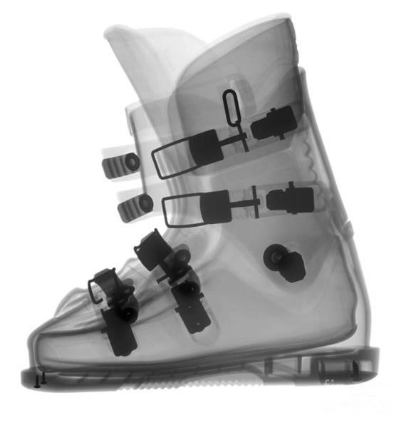 Photograph - Ski Boot by Ted Kinsman