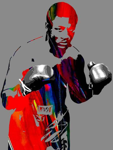 Boxing Mixed Media - Smokin Joe Frazier Collection by Marvin Blaine