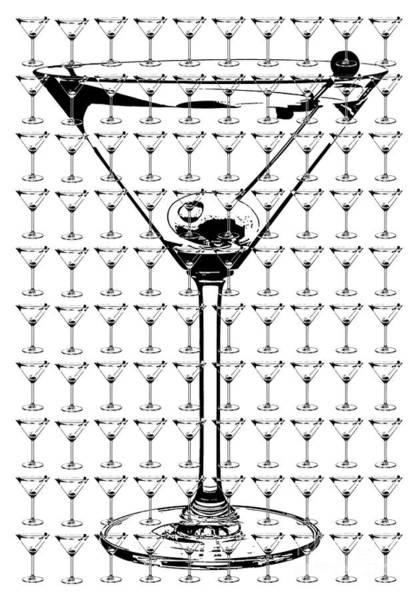 Stir Photograph - So Many Martinis So Little Time by Jon Neidert