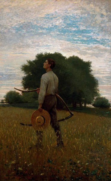 Sickle Painting - Song Of The Lark by Winslow Homer