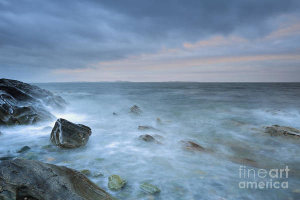 Photograph - Sound Of Jura At Sunset by Maria Gaellman