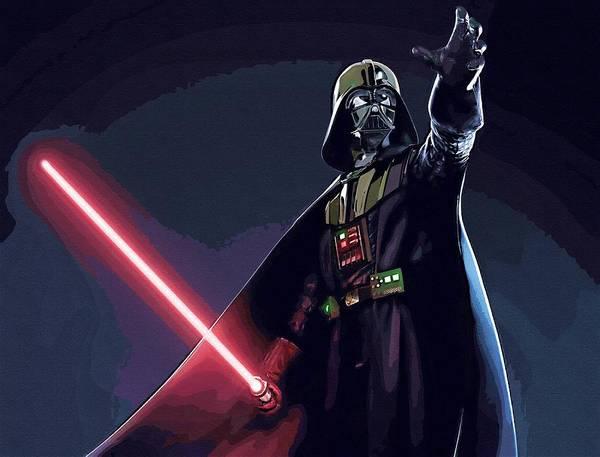 R2-d2 Digital Art - Star Wars Episode 2 Art by Larry Jones