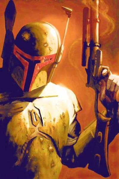 R2-d2 Digital Art - Star Wars Episode 2 Poster by Larry Jones
