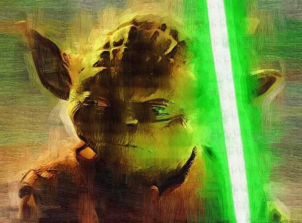 R2-d2 Digital Art - Star Wars Saga Art by Larry Jones