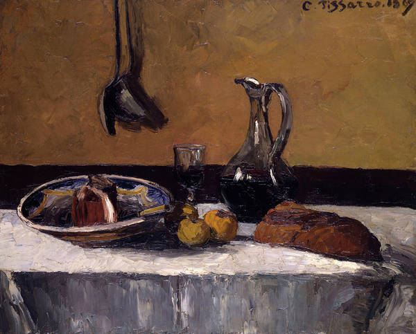 Wall Art - Painting - Still Life by Camille Pissarro