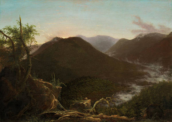 Painting - Sunrise In The Catskills by Thomas Cole