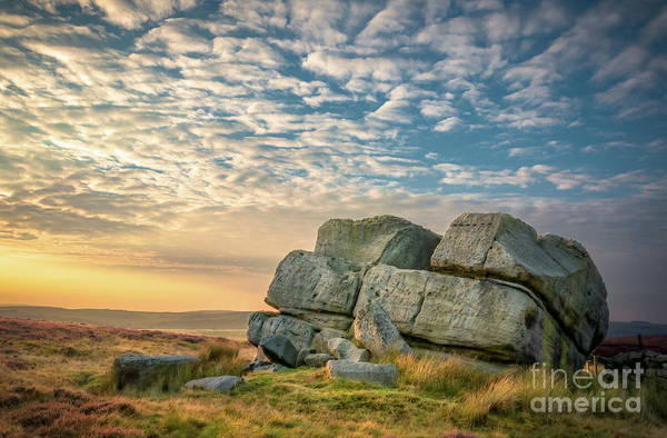 Photograph - Sunset By Hitching Stone by Mariusz Talarek