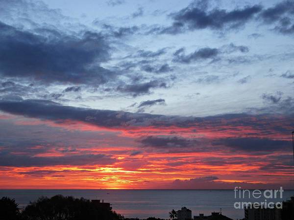 Photograph - Sunset In Torremolinos by Chani Demuijlder