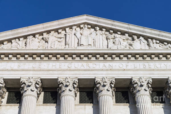 Cass Wall Art - Photograph - Supreme Court Building by John Greim