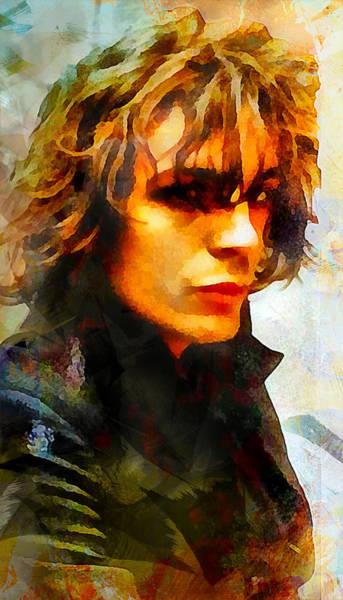 Famous People Digital Art - Syd Barrett. Pink Floyd. by Lilia Kosvintseva