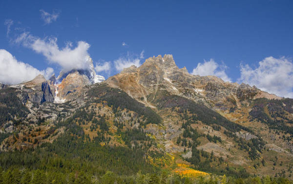 Photograph - Tetons by Mark Smith