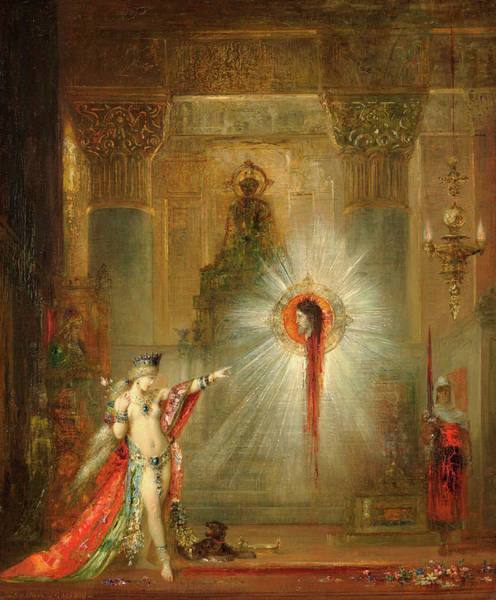 Wall Art - Painting - The Apparition by Gustave Moreau