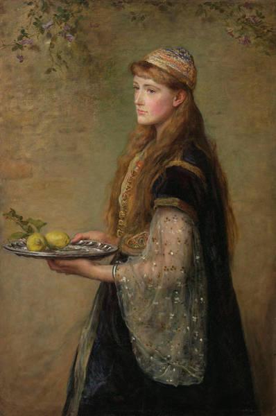 Millais Painting - The Captive by John Everett Millais
