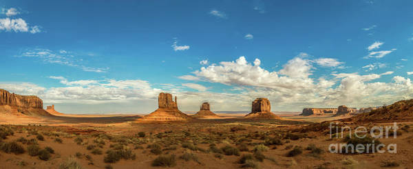 Wall Art - Photograph - Classic Monument Valley View by Jamie Pham