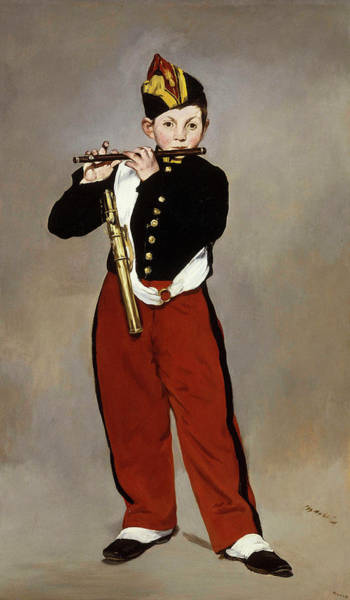 Fife Painting - The Fifer by Edouard Manet