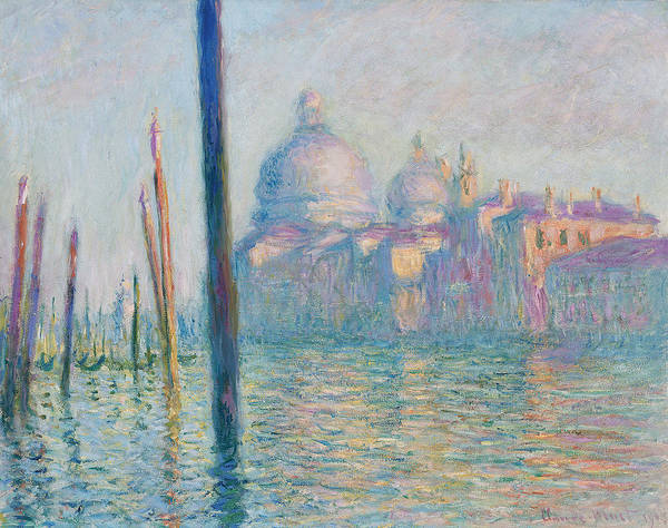 Painting - The Grand Canal  by Claude Monet