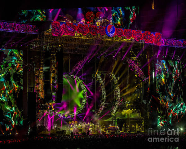 Phil Lesh Photograph - The Grateful Dead At Soldier Field Fare Thee Well Tour by David Oppenheimer