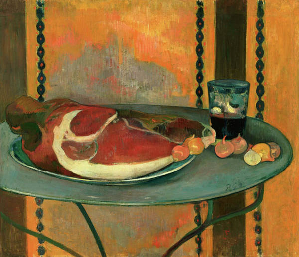 Wall Art - Painting - The Ham by Paul Gauguin